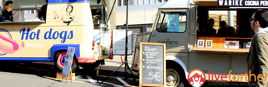 Food truck festivals in Barcelona