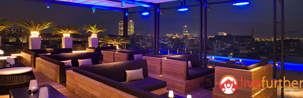 Top 5 rooftop bars in Barcelona
